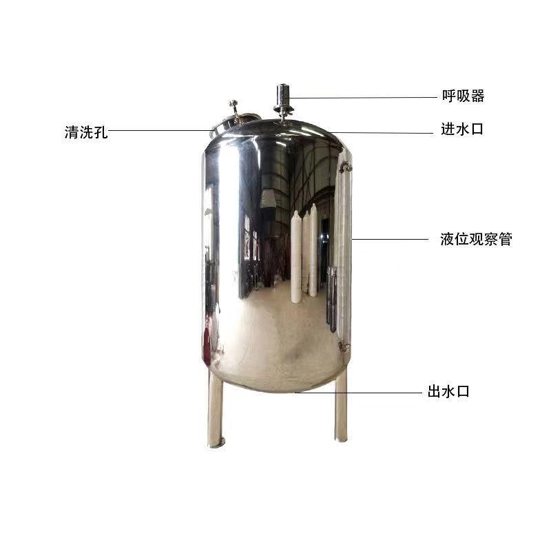 涿州工业不锈钢无菌水箱无菌纯水箱食品级无菌水箱图片