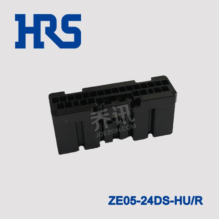 HRS广濑新能源汽车壳ZE05-24DS-HU/R连接器车载