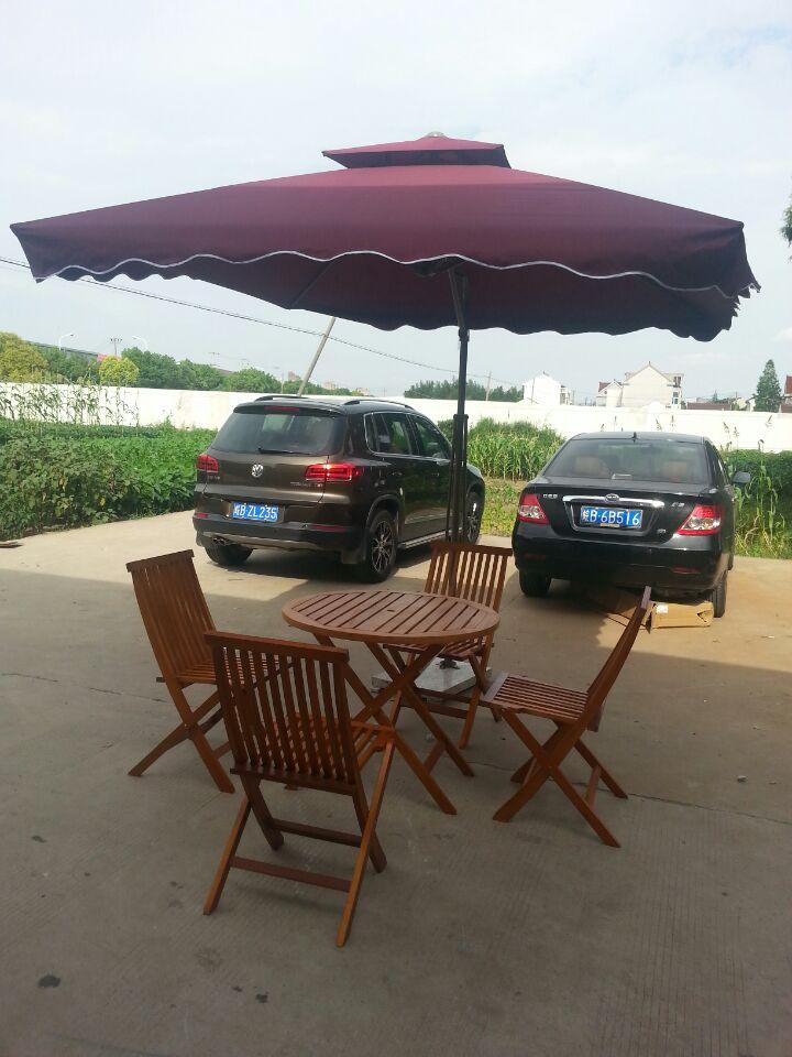 北京全新户外桌椅租赁1桌4椅带伞租赁藤桌藤椅租赁