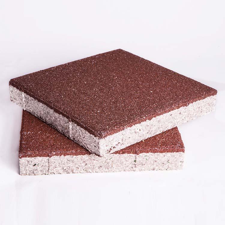 陶瓷透水砖铺装和保养介绍图片