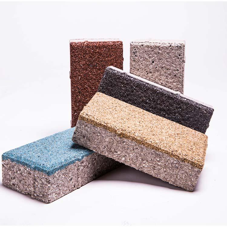众多陶瓷透水砖中如何挑选出高品质陶瓷透水砖图片