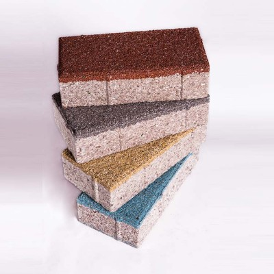 生产好的陶瓷透水砖如何放置与包装