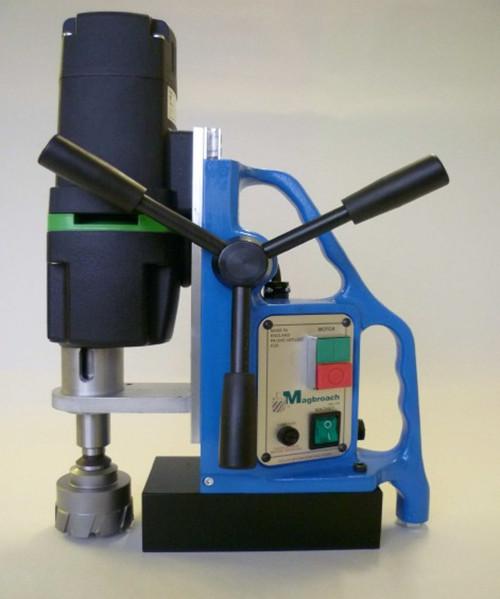 供应英国麦格MD50磁力钻较强的吸附力可从不同角度钻孔图片
