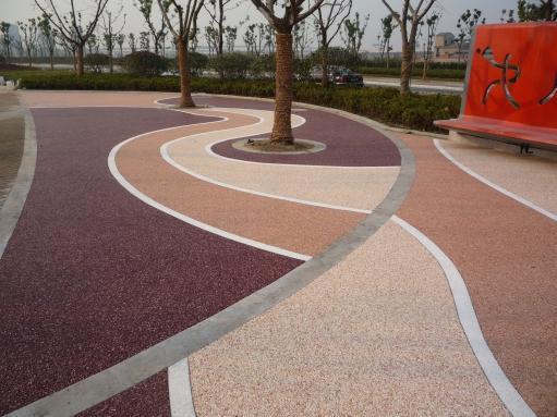 绵阳市,彩色混凝土,生态透水混凝土,压花地坪,艺术地坪