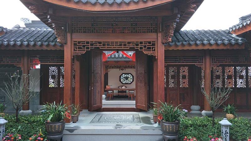 中式红木整装全屋定制图片