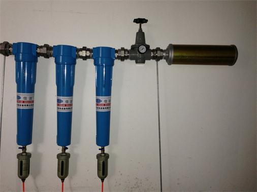 空气过滤装置矿用救援设备 矿井压风供水自救装置图片