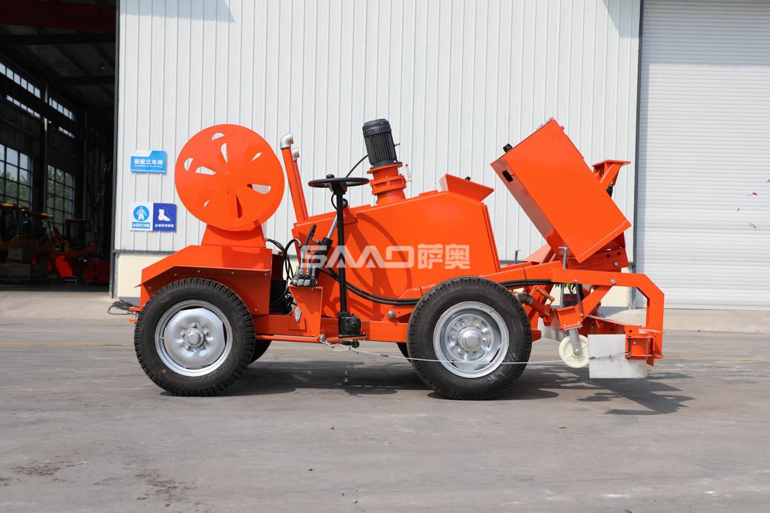 济南路面施工可用的SLP-200沥青玛蹄脂摊铺整平机