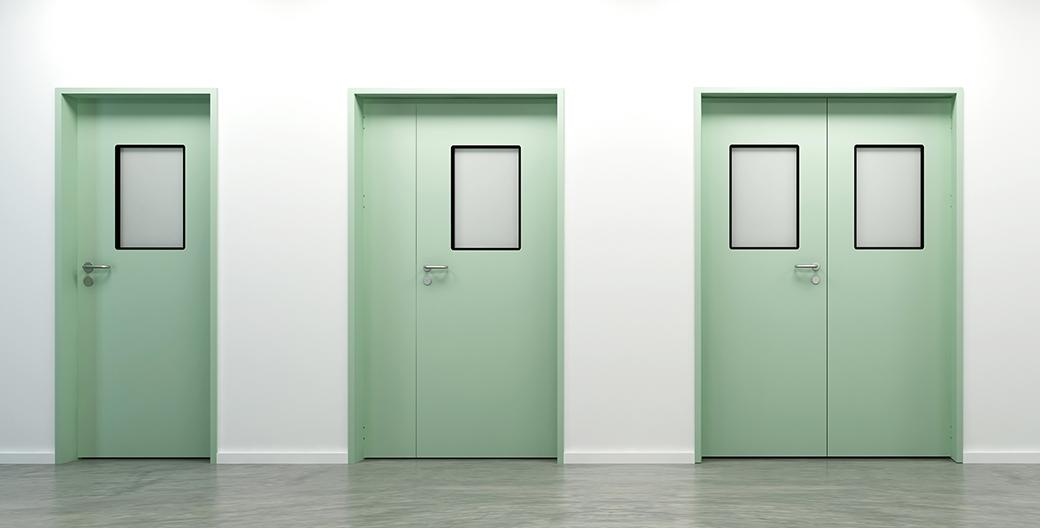 惠州车间净化门,不锈钢洁净门,净化钢质门,车间工厂钢制门图片