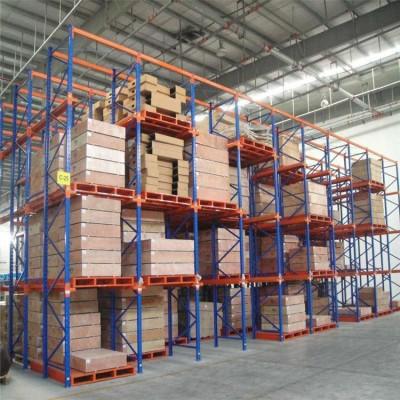 河南纵横货架厂,供应贯通货架,仓库驶入式货架。