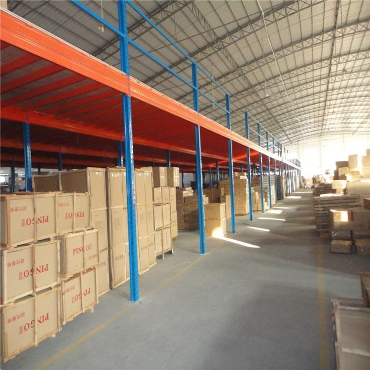 河南纵横货架厂,供应仓库货架,钢平台货架,组装方便。