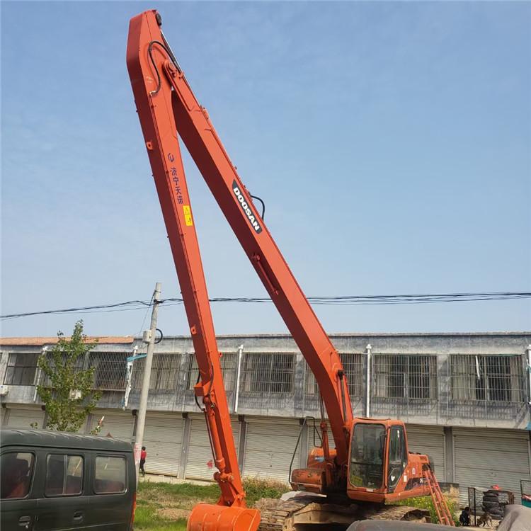 加长臂挖掘机 生产长臂山东厂家 清淤加长臂