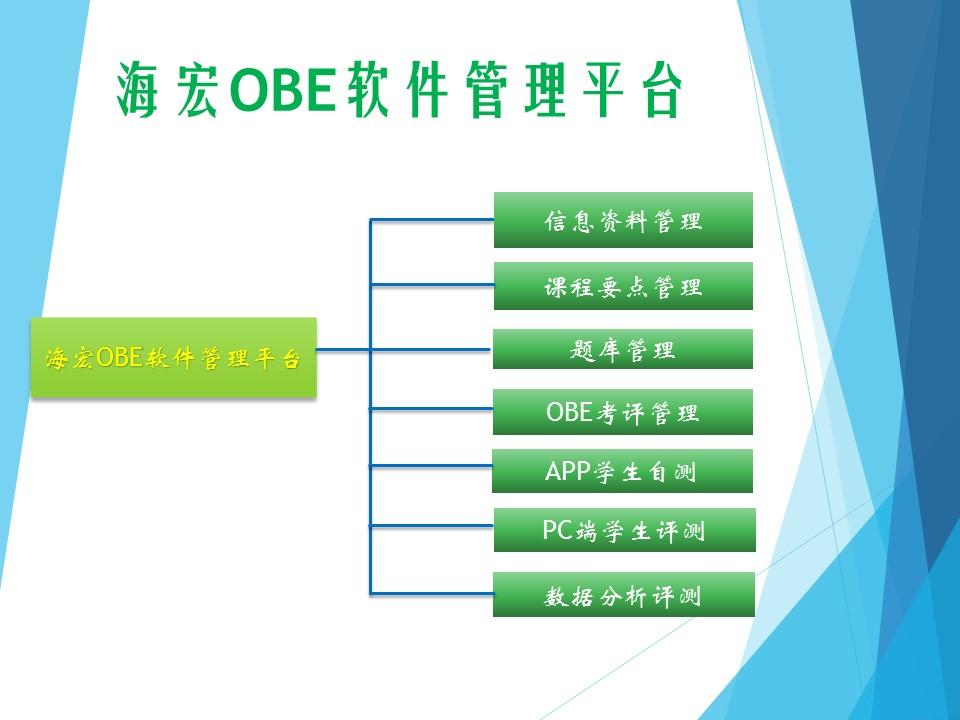 海宏OBE软件管理平台图片