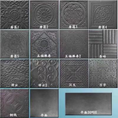 古建仿古砖模具-专业定制生产精达厂家