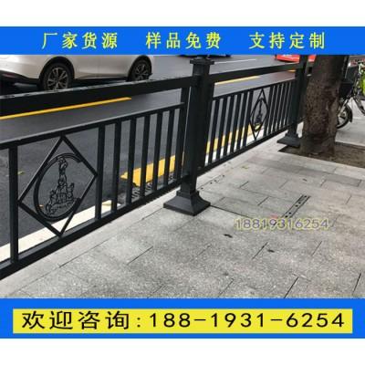广州机动车中心分隔护栏 越秀区人行道护栏定做 隔离带护栏图片