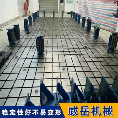 铸铁平台生产厂家按需产铸铁T型槽平台生铁价售