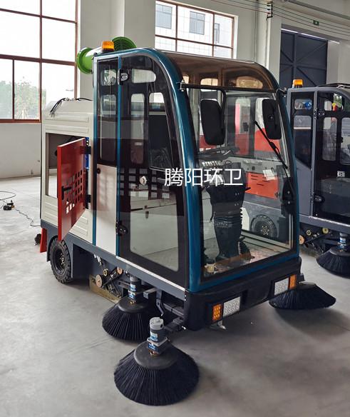 工厂使用腾阳电动扫地车的原因