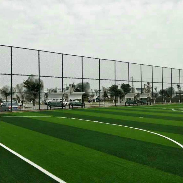 湖州球场围网体育场护栏网菱形勾花铁丝护栏厂家直销