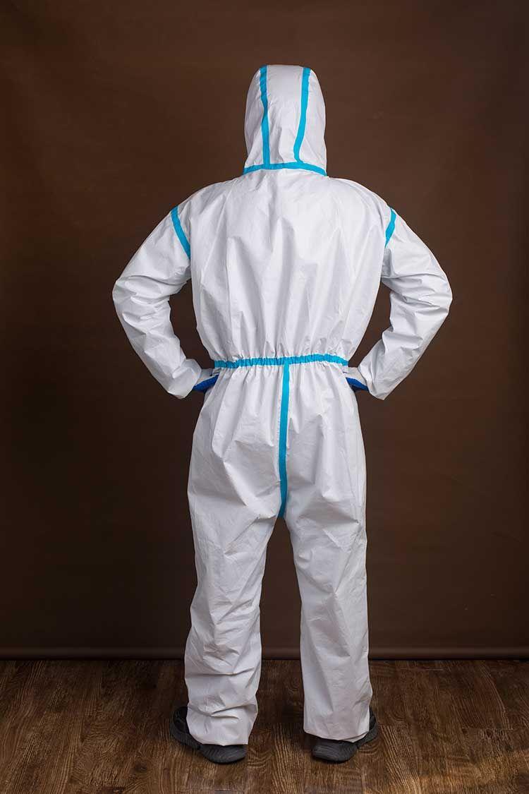 大方医用一次性防护服图片