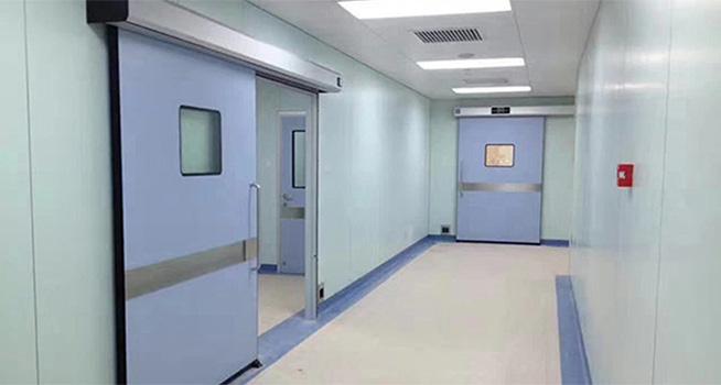 南阳医用气密门,手术室气密门,防辐射防护铅门,自动平移门