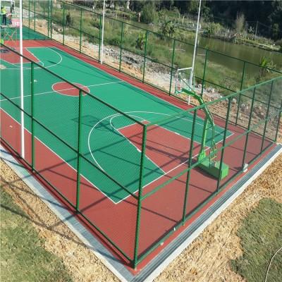临沂运动场体育场球场围网篮球场围栏网制作精良
