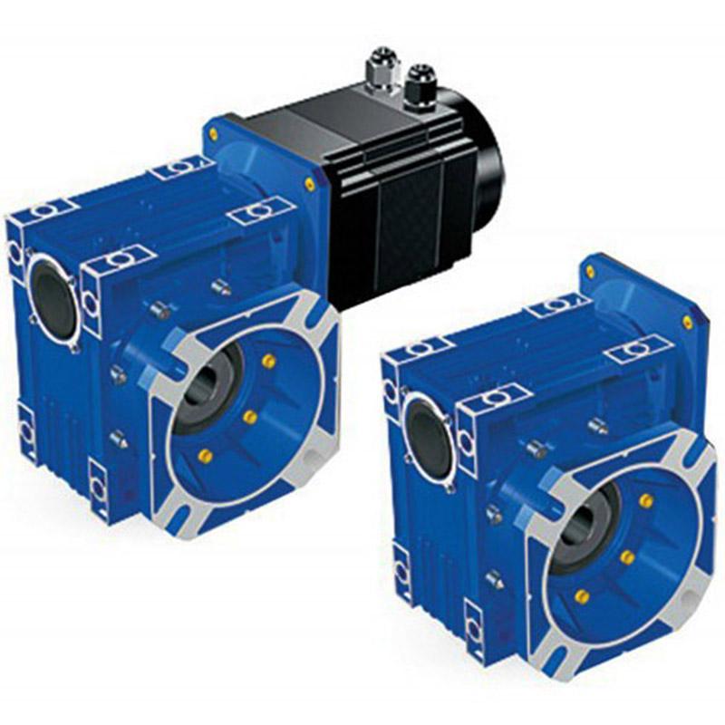 伺服电机蜗轮蜗杆减速机精密蜗轮蜗杆减速箱