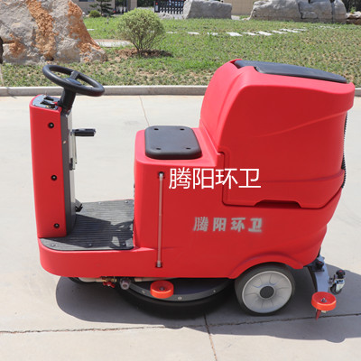 使用腾阳电动驾驶式洗地机时需要注意什么?