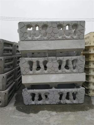 混凝土阶梯式护坡模具定做分体阶梯式护坡砌块模具图片