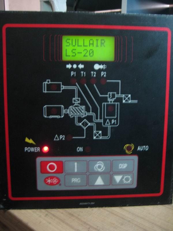寿力空压机控制器维修图片
