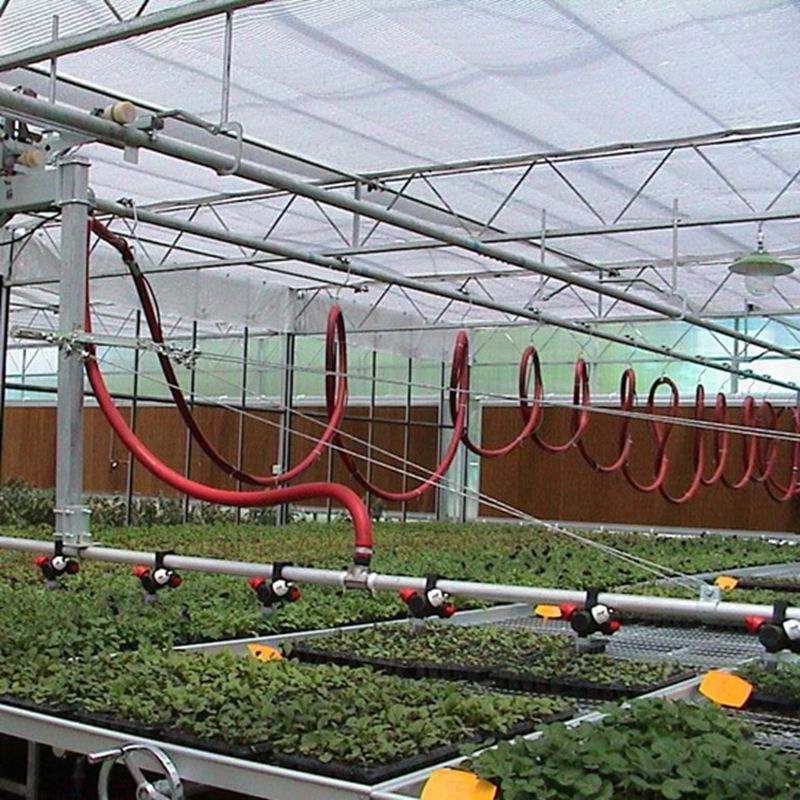 吕梁温室种植自动智能喷灌机及配件图片