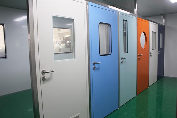 资阳钢质洁净门,彩钢板平移门,不锈钢室内门子母门定制安装售后