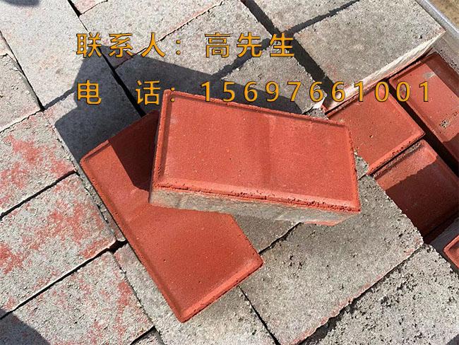 桥南人行道砖生产厂家