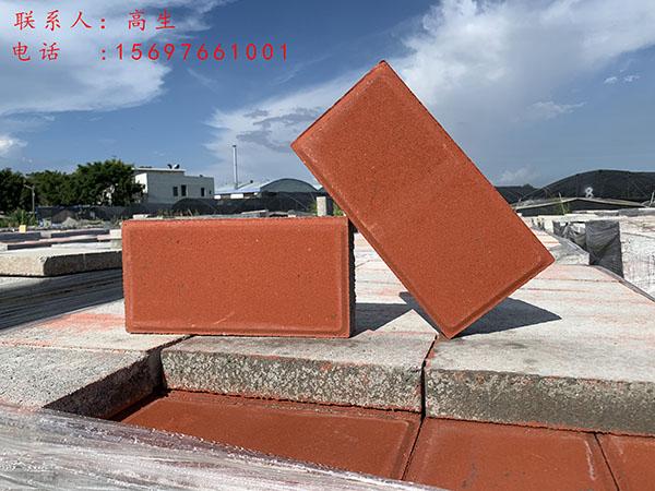 桥南环保彩砖供应商