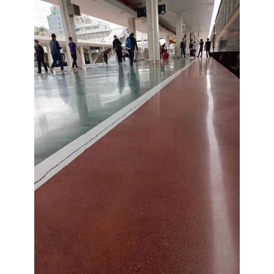 彩色密封固化剂地坪