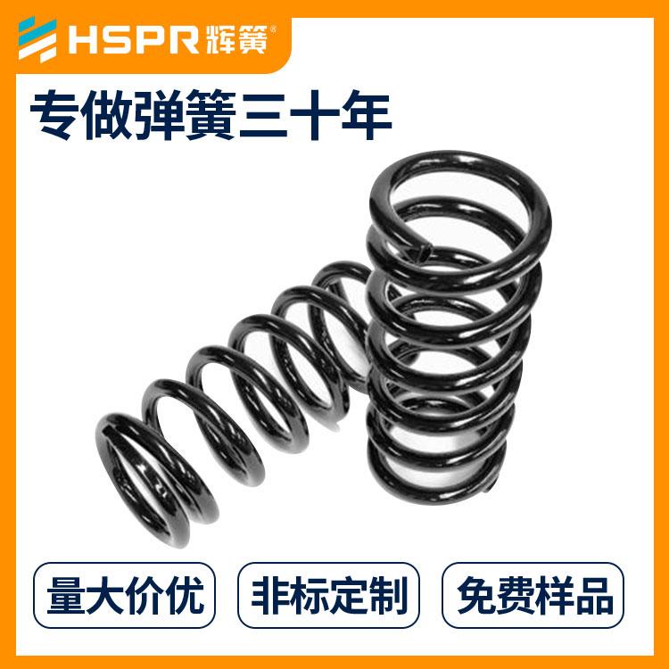 圆柱形压缩弹簧非线性压缩弹簧玻璃橱窗锁压簧图片