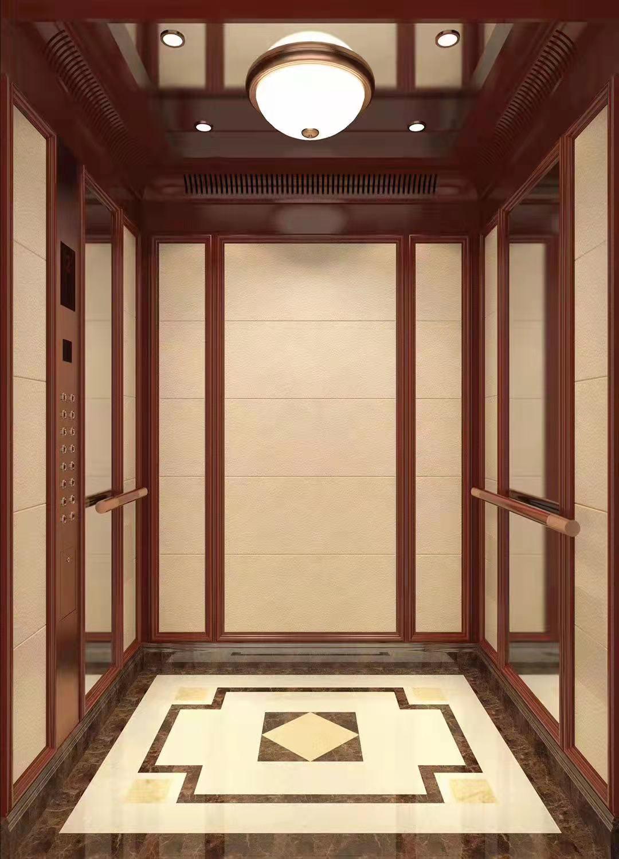 电梯装饰酒店别墅商场客梯扶梯装潢门套轿顶定做翻新图片