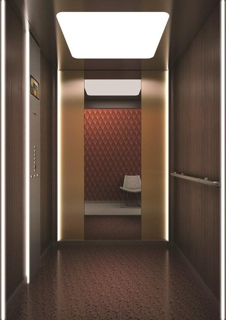 电梯装饰酒店别墅商场客梯扶梯装潢门套轿顶定做翻新