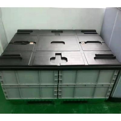 成品电芯围板箱包装 物流运输包装箱 大型围板箱亚美三兄