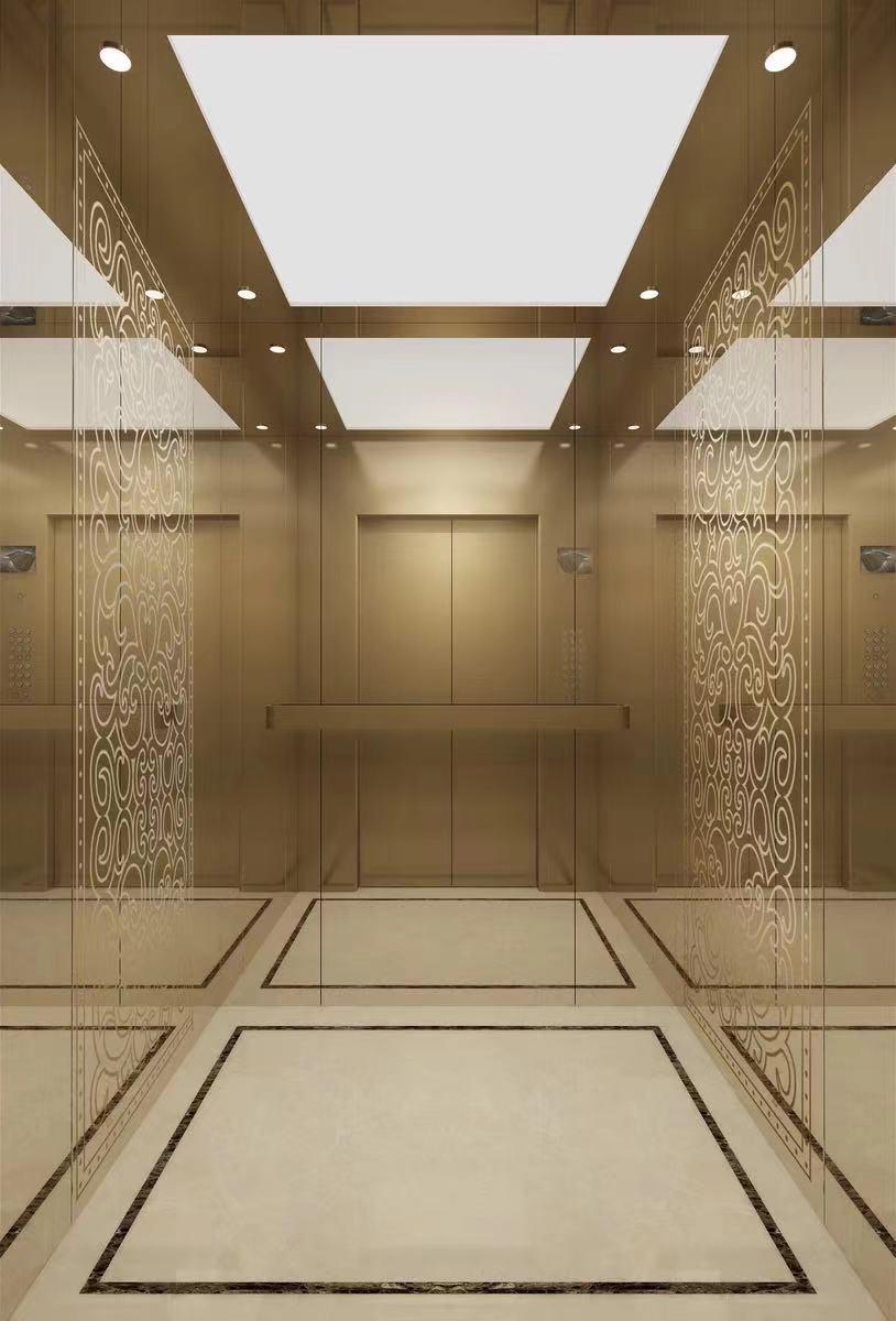 酒店电梯装饰扶梯客梯大厦别墅电梯装饰翻新图片