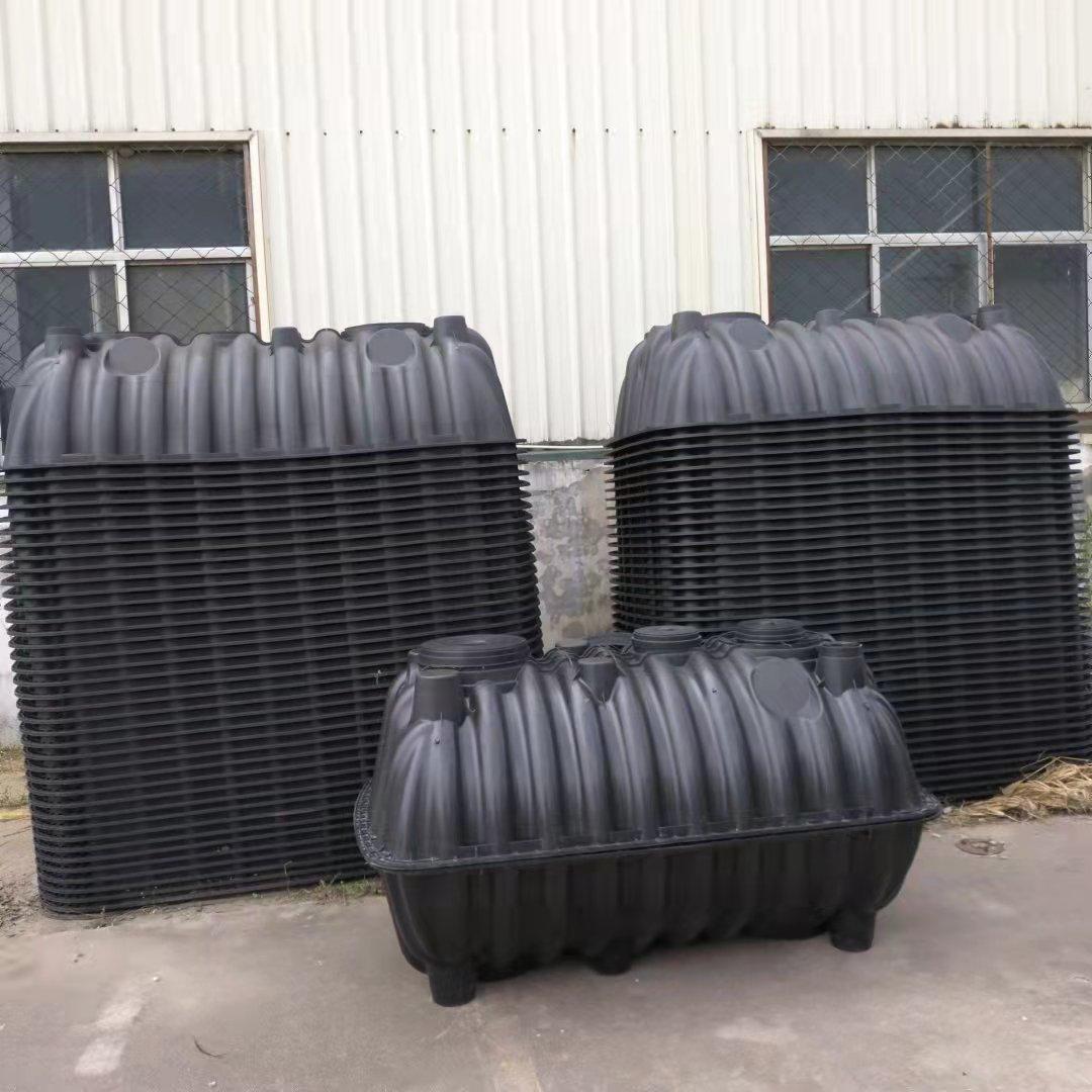 三格式塑料化粪池 1.5立方 山西塑料pe化粪池图片