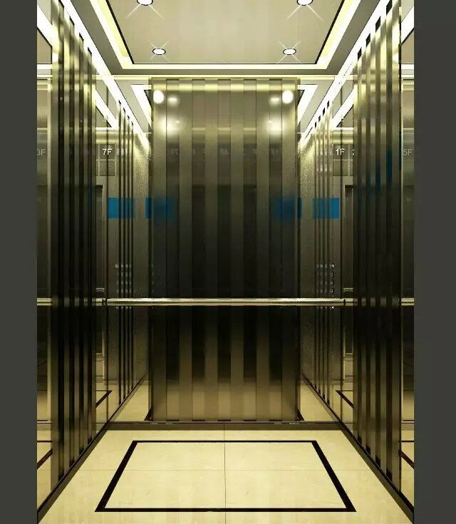 酒店电梯装饰商场扶梯装修客梯内部装饰新旧电梯翻新定做图片