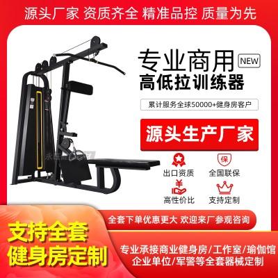 高拉低拉一体机商用健身房专用器材臂部力量训练器械